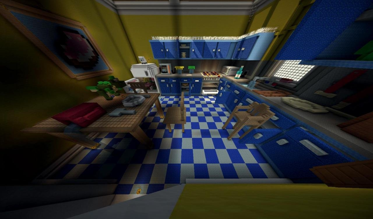 toy story 2 minecraft adventure map kitchen