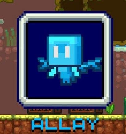 allay mob minecraft ikona moba glosowanie