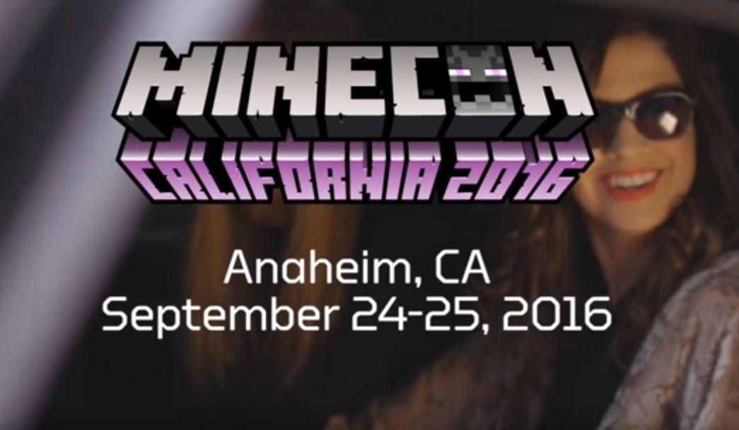 minecon 2016 california anaheim wrzesien 24 25