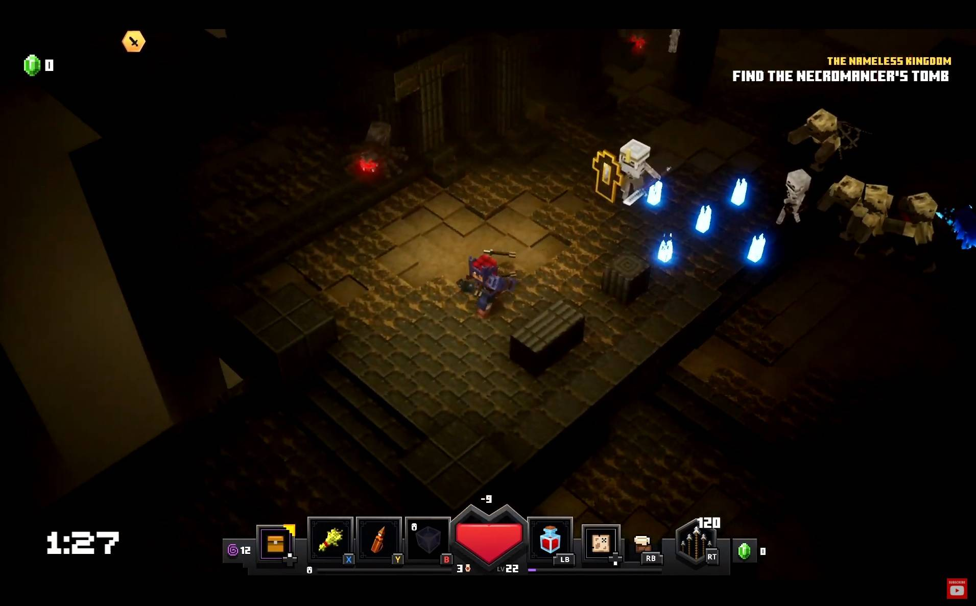 minecraft dungeons demo gameplay rozgrywka