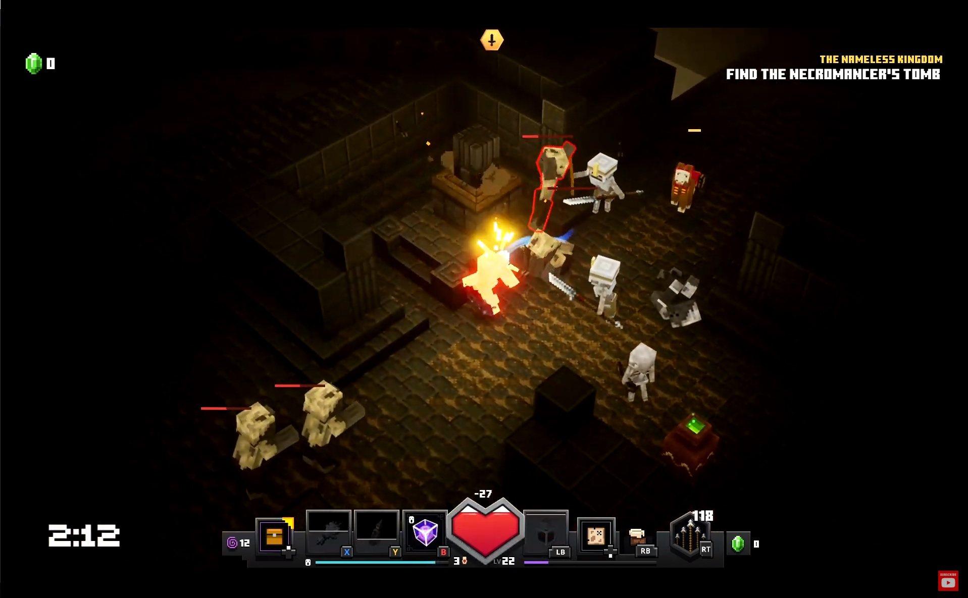 minecraft dungeons gamelay demo rozgrywka 2