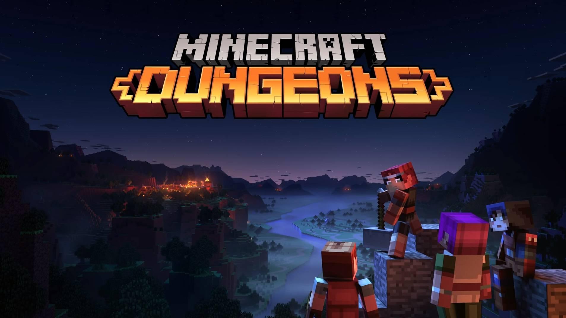 minecraft dungeons premiera wiosna 2020