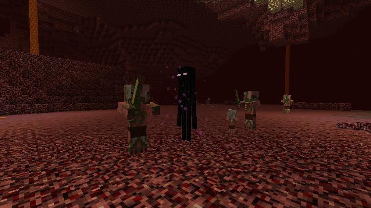 enderman w neterze minecraft 1.10