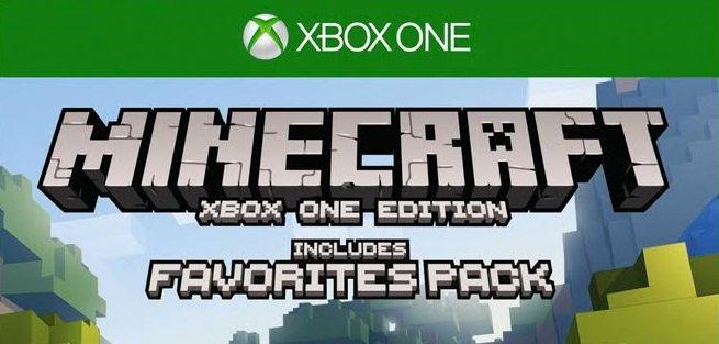 minecraft xbox one favorites pack