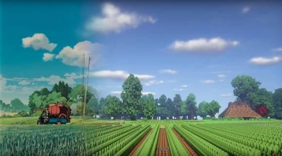 moj sasiad totoro kraina z filmu w minecraft