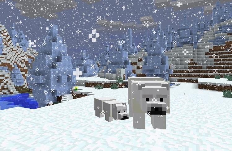 niedzwiedz polarny minecraft 1.10