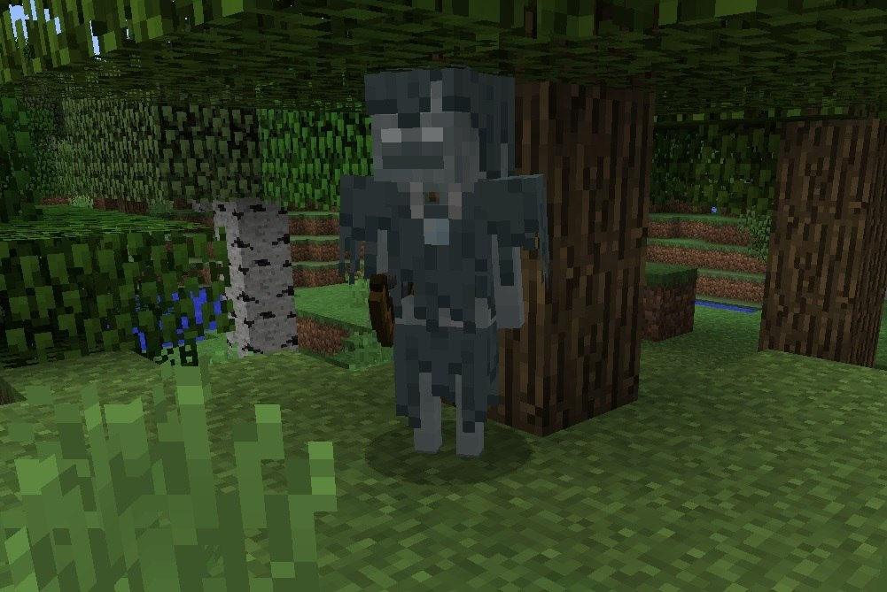 zblakany szkielet minecraft 1.10