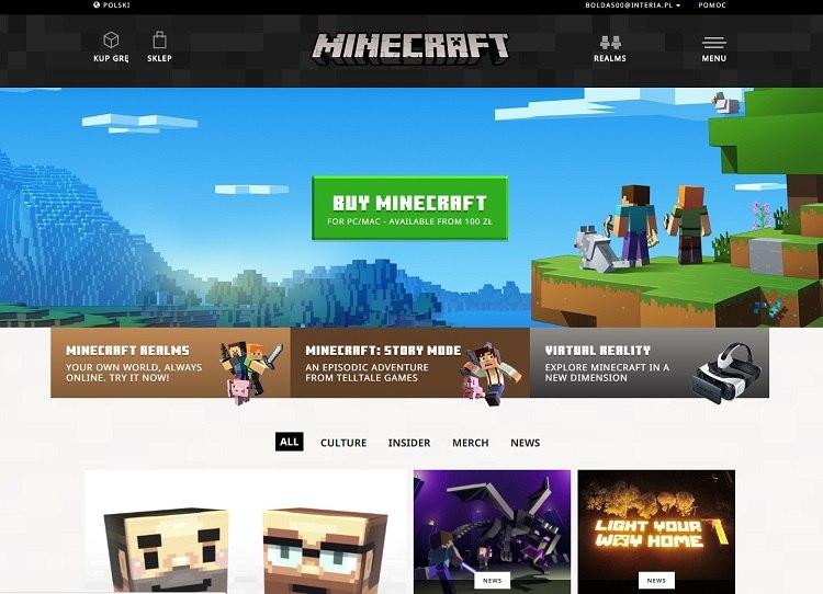 minecraft net nowa odslona bloga