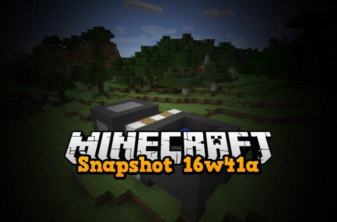 snapshot 16w41a minecraft 1.11