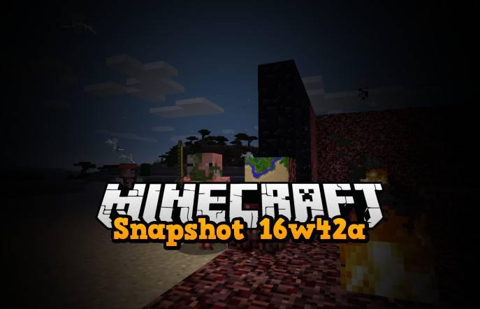 snapshot 16w42a minecraft 1.11