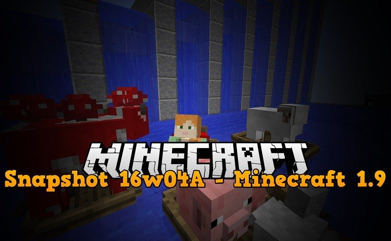 16w04a snapshot minecraft