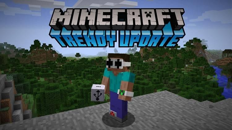 1rv minecraft update aktualizacja trendow mody