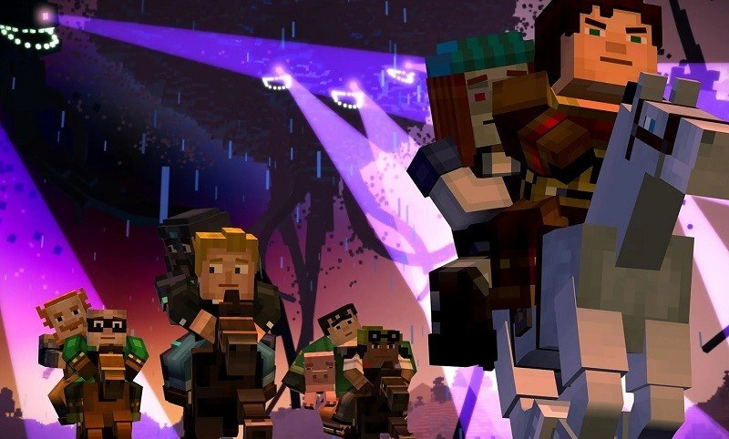 minecraft story mode 39 groszy epizod pierwszy