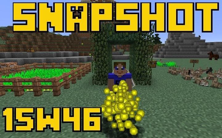 snapshot 15w46a minecraft