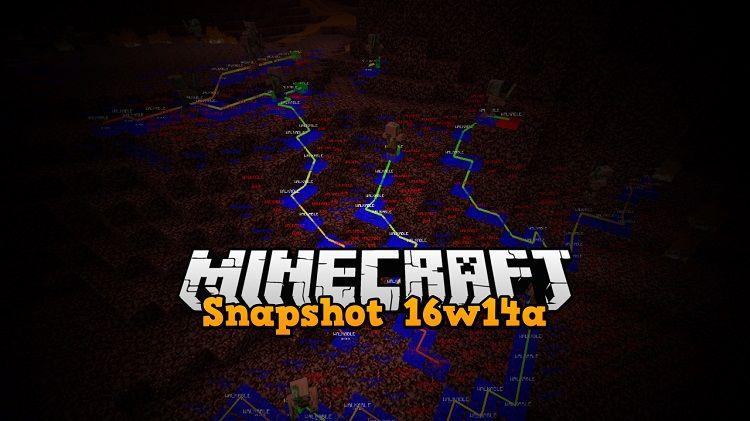 snapshot 16w14a minecraft 1.9.3