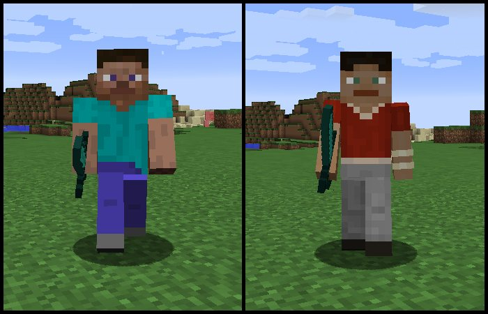Steve-3px-arm-model-minecraft