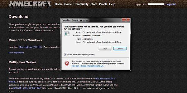 aktualizacja mienecraft instalator download msi
