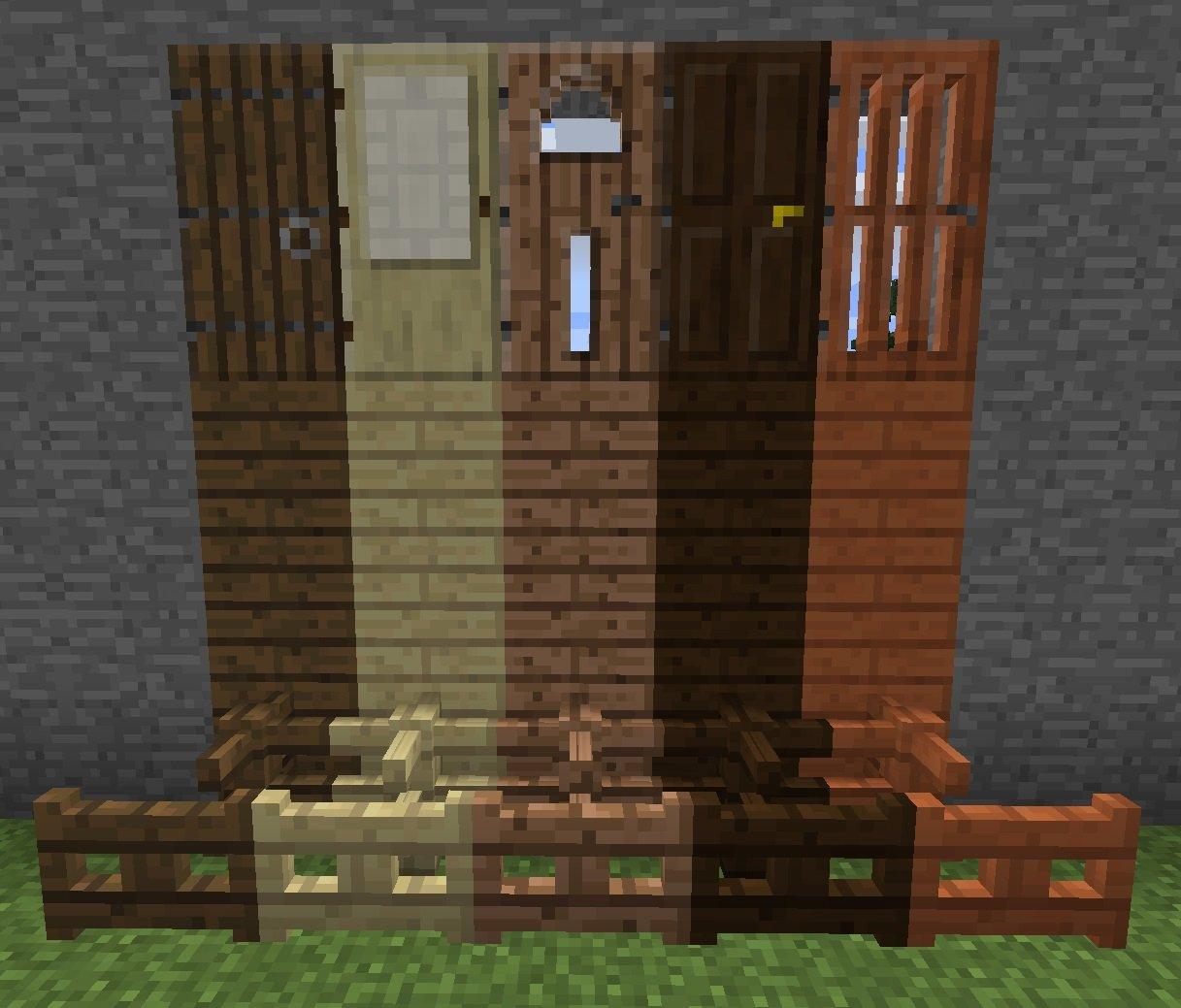 drzwi-plotki-furtki-minecraft-1.8-wszystkie-rodzaje