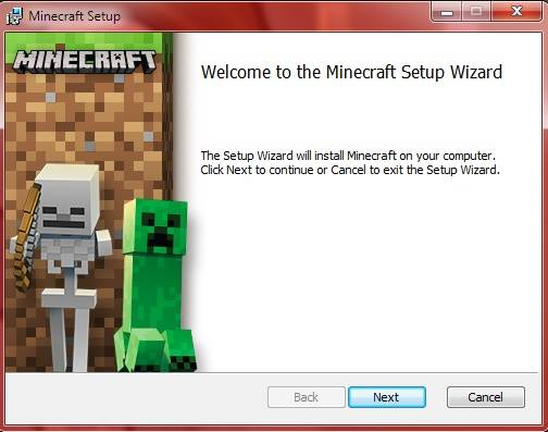 minecraft instaler download msi windows