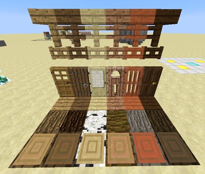 wszystkie-rodzaje drewna-minecraft-1.8