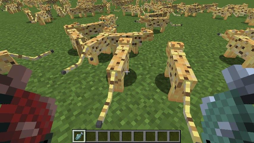 dual arms dwie rece minecraft tarcza