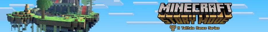 game minecraft story mode baner