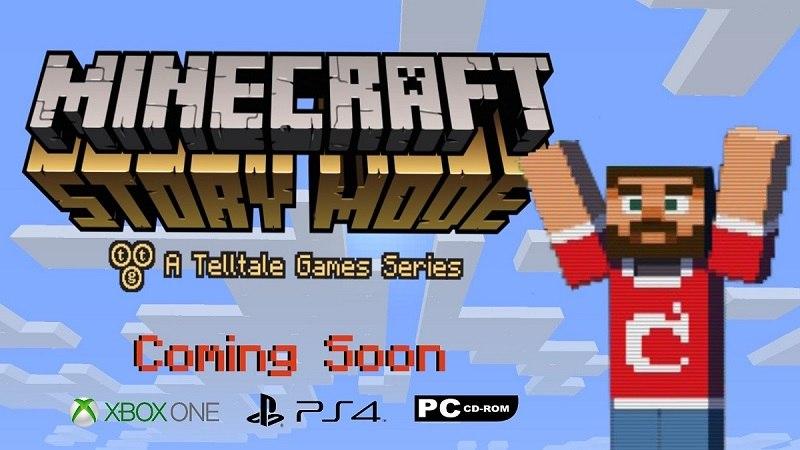 game minecraft story mode epizod pierwszy