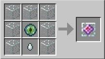 krysztal kresu receptura tworzenia minecraft