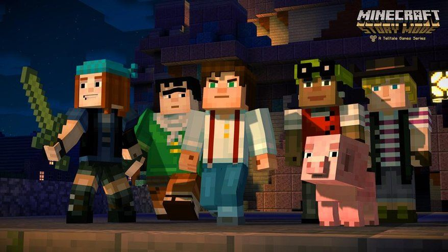 minecraft story mode zwiastun
