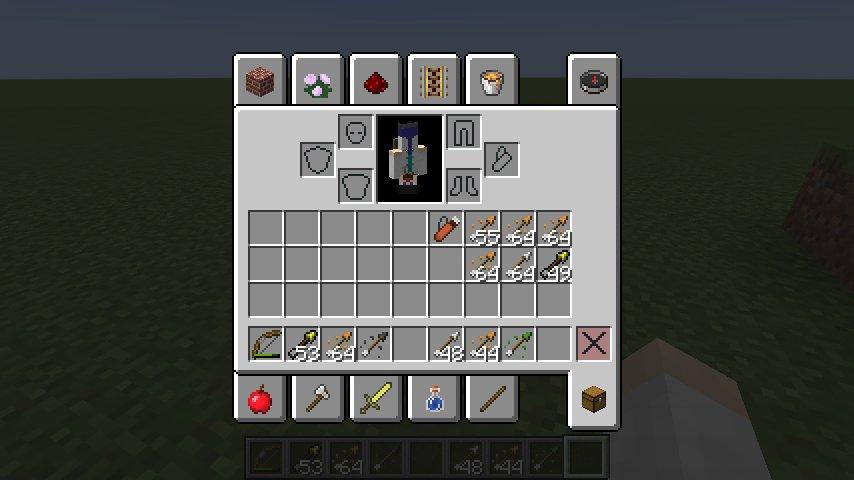 nowe sloty w ekwipunku minecraft 1.9 tarcza kolczan