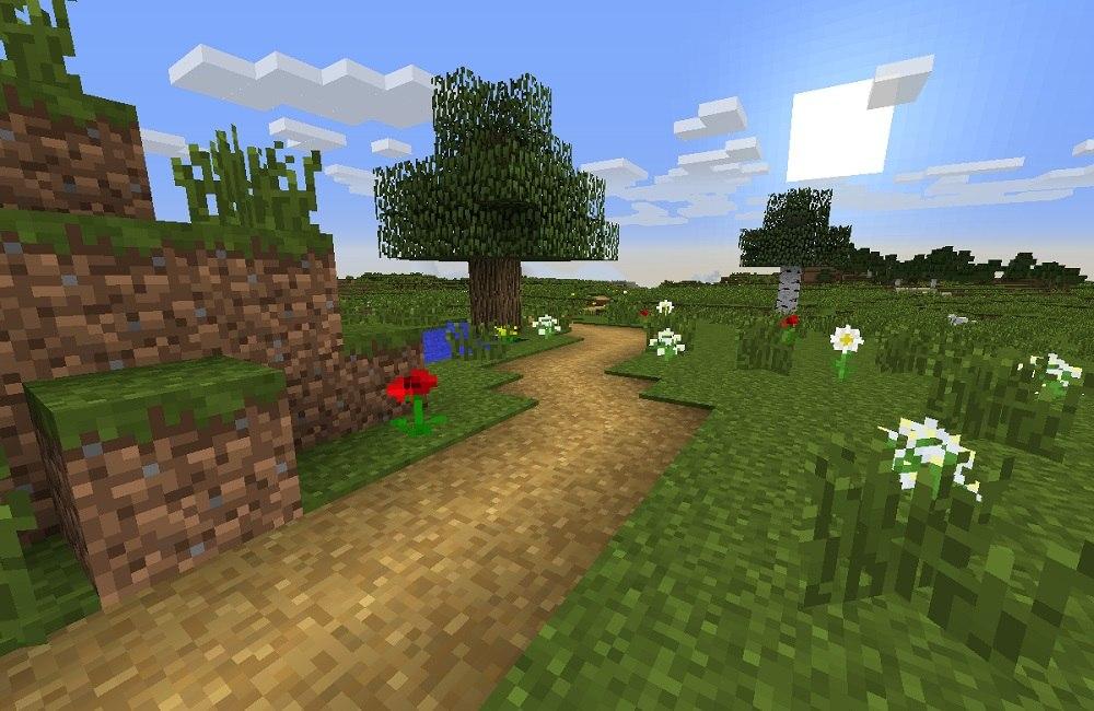 sciezka szlak w trawie minecraft 1.9
