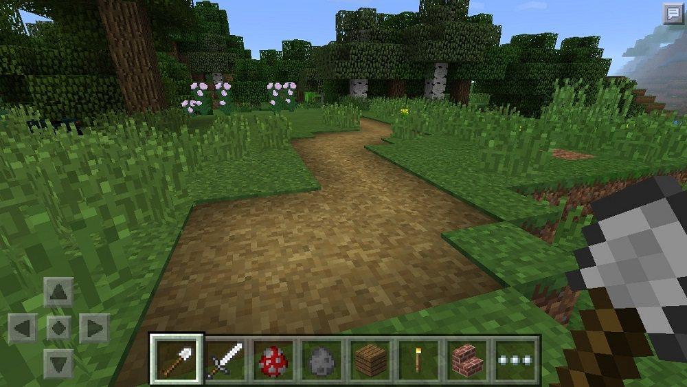 sciezka szlak w trawie minecraft xbox edition