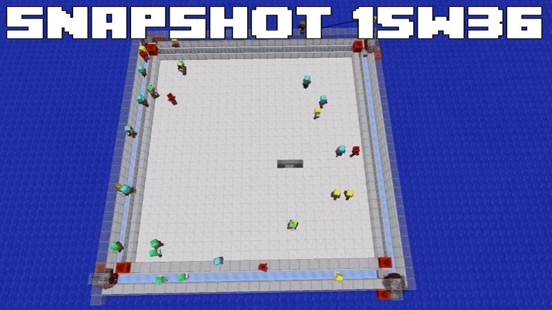 snapshot 15w36 kolizja obiektow powraca