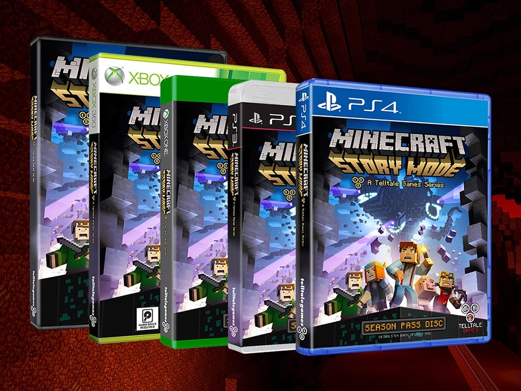 story mode minecraft dostepne platformy pc mac ps 3 ps 4 xbox one xbox 360