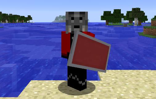 tarcze w minecraft 1.9 shields update