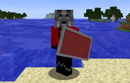 tarcze w minecraft 1.9 shields update