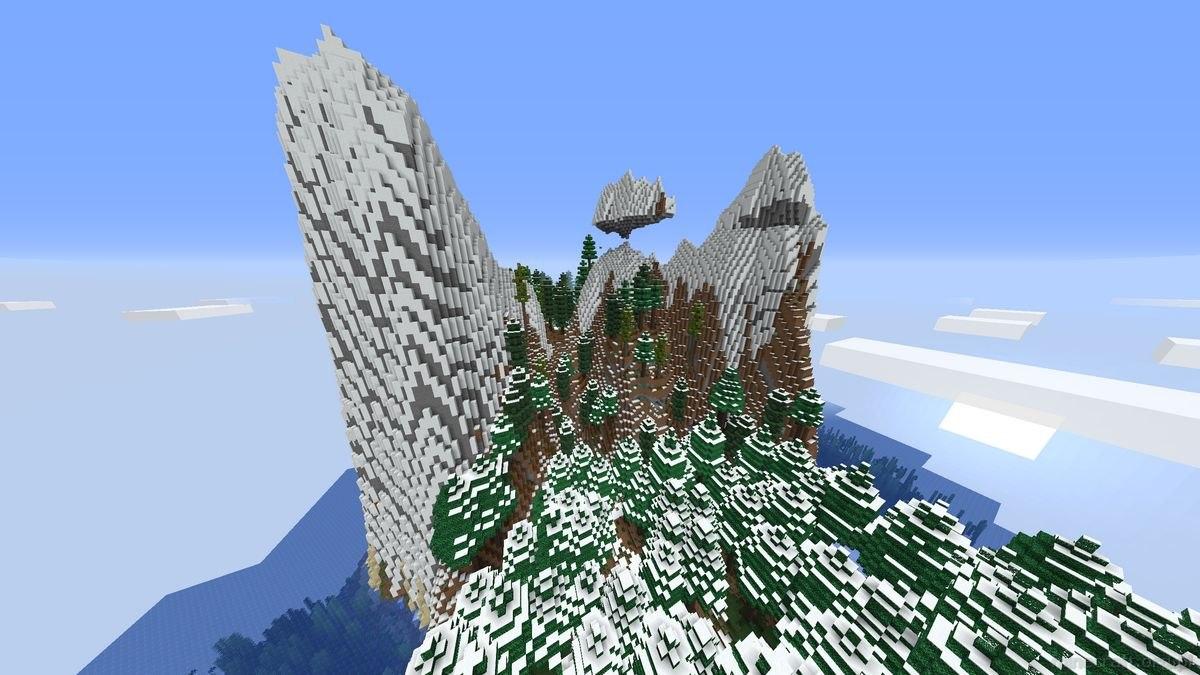 BYG mod alpy z zimowym lasem