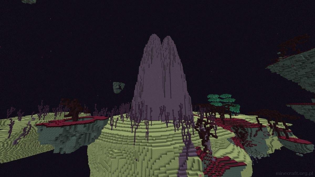 BYG mod end purpurowe szczyty