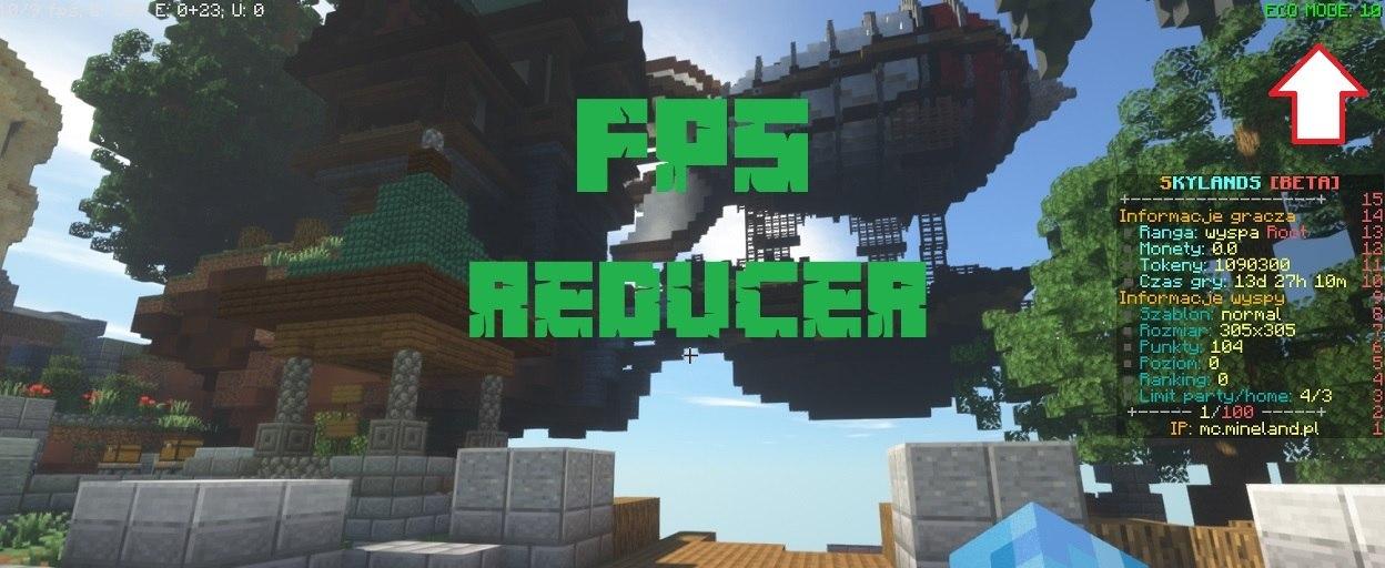 FPS Reducer mod 1.17.1