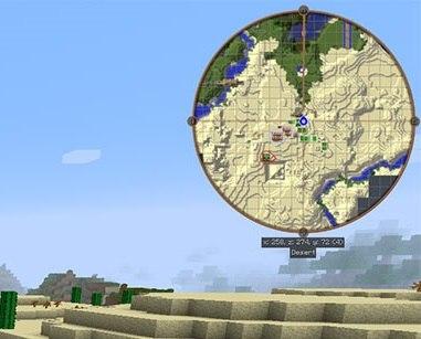 JourneyMap podglad mapy radar 1