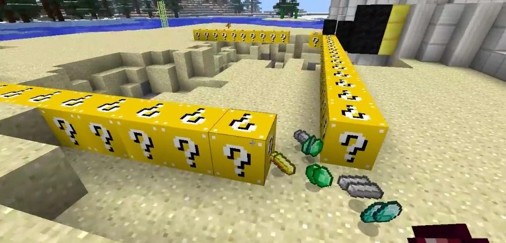 Lucky Block Mod 4