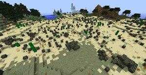 biomes o plenty mod biom biom pustynnych krzewow