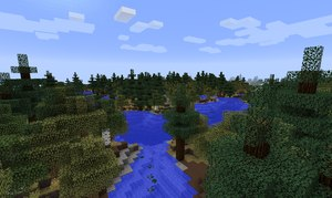 biomes o plenty mod biom kraina jezior