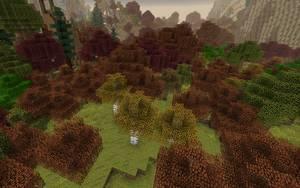 biomes o plenty mod biom las sezonowy