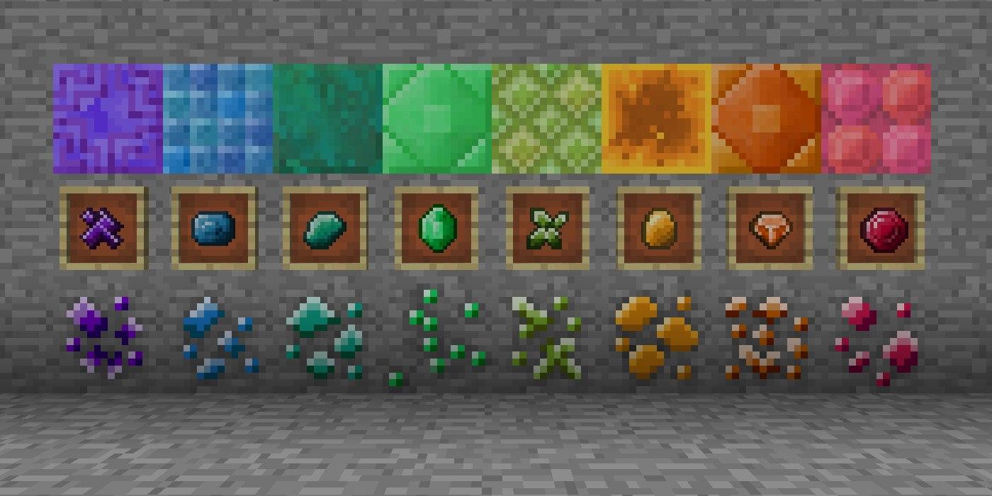 biomes o plenty mod kamienie szlachetne