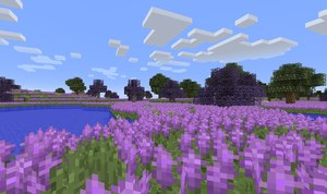 biomes o plenty mod lawendowe pola