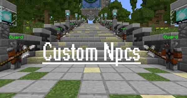 custom npc mod minecraft
