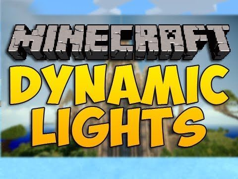 dynamic light mod minecraft