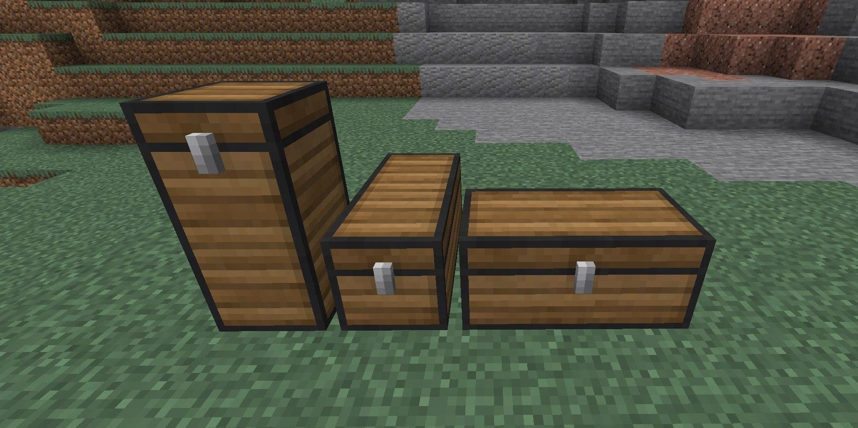 expanded storage drewniana wszystkie uklady