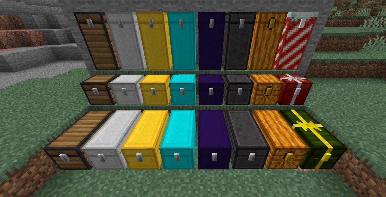 expanded storage wszystkie skrzynie uklady